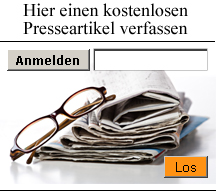 Pressemitteilung verffentlichen
